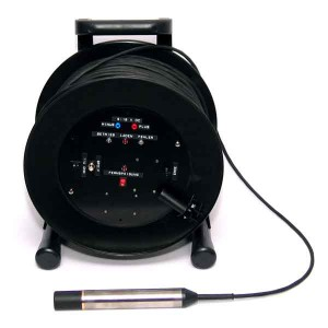 Hydrophon-mit-Kabeltrommel